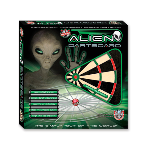 Alien Bristle Dartboard – Official Tournament 2