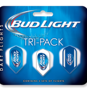 Bud Light Slim Tri-Pack Flights