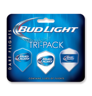 Bud Light Standard Tri-Pack Flights