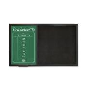The Cricketeer BackBoard ScoreBoard - Black